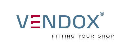 Fitting your shop | Vendox Logo